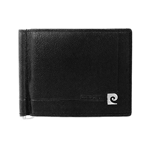 pierre-cardin-pc-8858-ps-nero-black-leather-money-clip-wallet