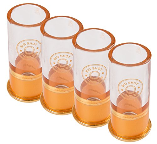 Big Shot 12 Gauge Shotgun Shell Shot Glass (Pack of (Shotgun Shell Shot Glasses)