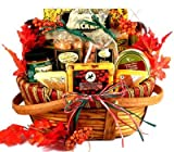 Season's Best Gourmet Meat and Cheese Fall Thanksgiving Gift Basket