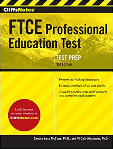 Amazon cliffsnotes ftce professional education test 3rd edition cliffsnotes ftce professional education test 3rd edition revised edition kindle edition fandeluxe Images