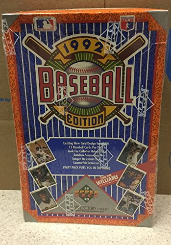 Upper Deck 1992 BASEBALL HOBBY BOX POSSIBLE TED WILLIAMS (1992 Upper Deck Star)