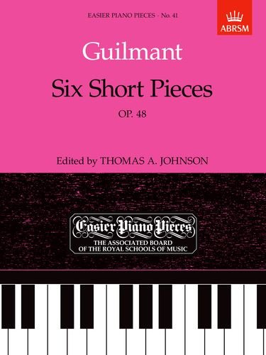 Six Short Pieces, Op.48 (Easier Piano Pieces)