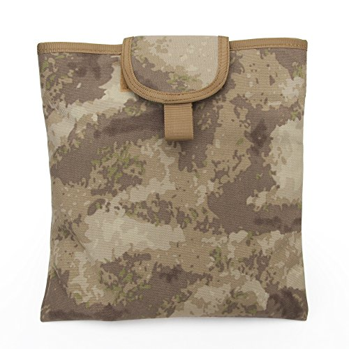 WosporT Tactical Foldable Molle Dump Pouch Airsoft Paintball