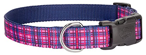 Country Brook Design | Cotton Candy Plaid Ribbon Collar Limited Edition - Small