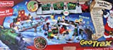 GEOTRAX Geo Trax REMOTE CONTROL Train CHRISTMAS in TOYTOWN Toy Town TRAIN Set w LIGHTS, SOUNDS, Figures, STATION & More TOYS