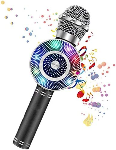 Amazon.com: Karaoke Microphone for Kids,Rechargeable Kids Microphone Karaoke Machine,Professional Handheld Karaoke Mic Speaker Home KTV Kids Outdoor Birthday Party - Best Gifts for Kids: Electronics