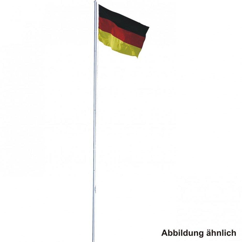 Mástil para 4m telescópico (aluminio y bandera de Alemania Unbekannt