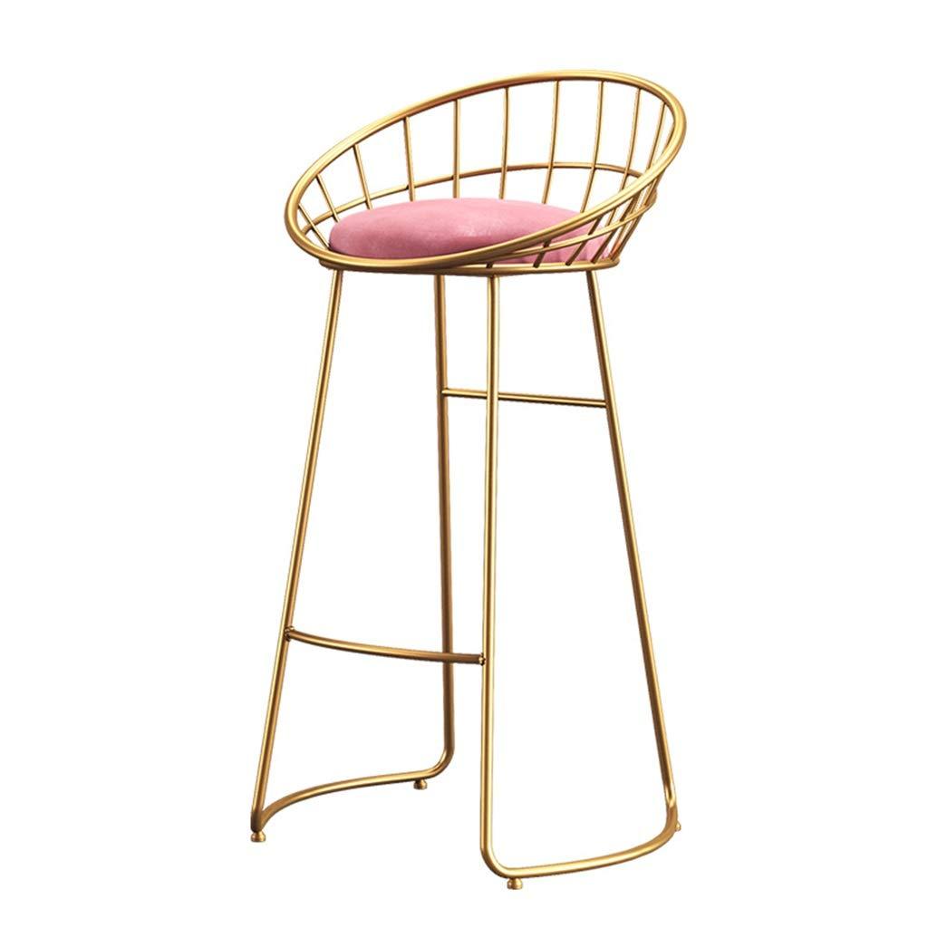 Amazon.com: Barstool – Silla de metal resistente – 25.6 ...