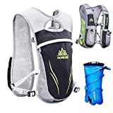 AONIJIE Lightweight Hydration Pack Backpack 5.5L Outdoors Marathoner Running Race Hydration Vest Outdoor Cycling Packsack Riding Sport Bike Hiking Camping Bag