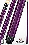 Viking Valhalla 2 Piece Pool Cue Stick VA107 (19oz, Purple)