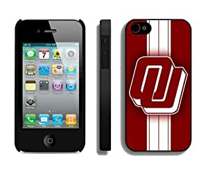 Top Iphone 4 4s Case Unique Design Phone Protective Cover Oklahoma Sooners 8