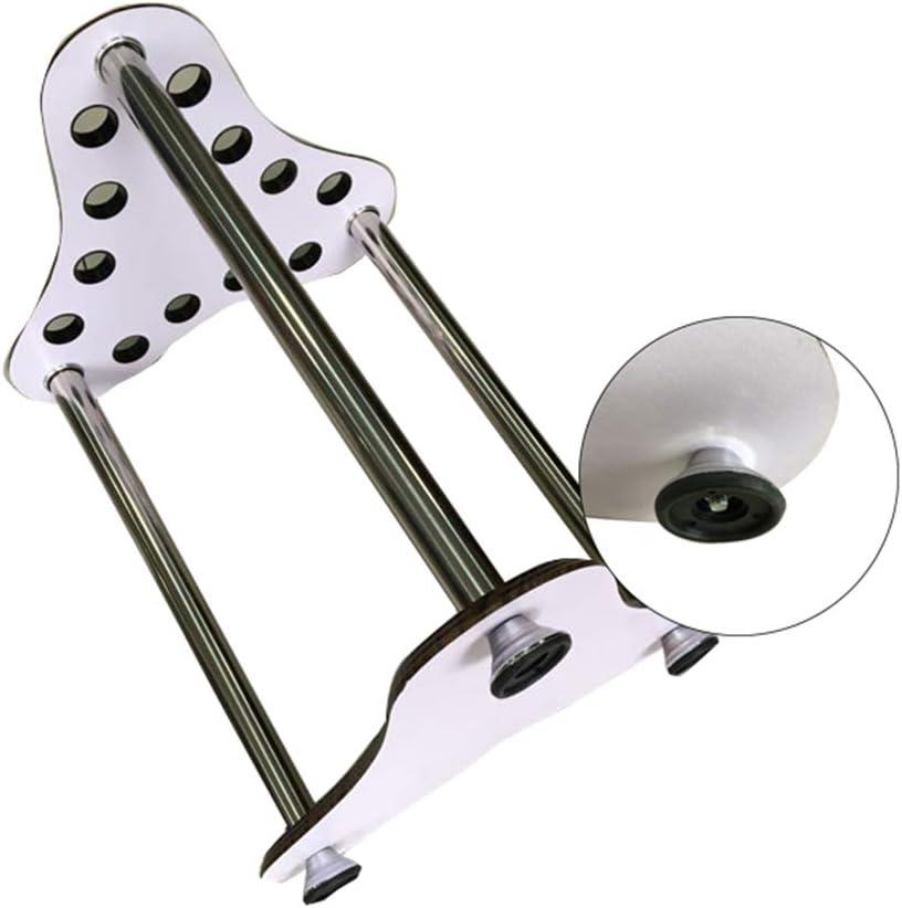 Billiard Cue Racks Holder Angle,Ball Floor Rack,Dark Wood Grain Finish,Game Rooms 12 Pool Cue Rack Only 60X34cm XZYY Pool Cue Rack Floor Stand