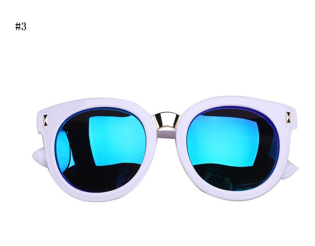 Flashing- kühlen Art und Weise Kinder Sonnenbrille Anti-Glare-Gläser Anti-UV-Strahlenschutz ( Farbe : #4 ) SLsmxA