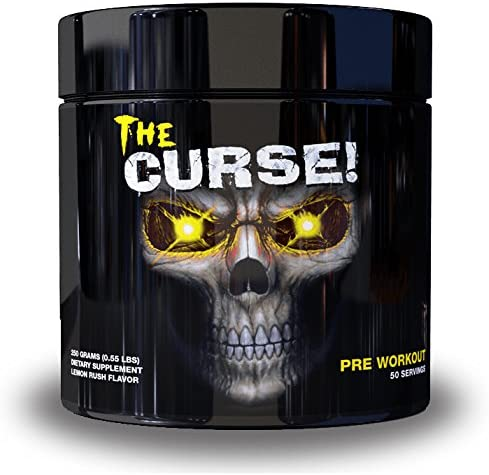 Cobra Labs The Curse Lemon Rush 50 Servings
