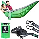 The only way to go camping! HikeGuru Double Hammock is the newest innovation on the market when talking about sleeping and relaxing in natureCan't sleep on the ground any longer? Afraid you will fall from your hammock and hurt your back?Or maybe you ...