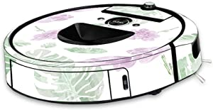 MightySkins Skin Compatible with iRobot Roomba i7 Robot Vacuum - Water Color Flowers | Protective, Durable, and Unique Vinyl Decal wrap Cover | Easy to Apply, Remove | Made in The USA