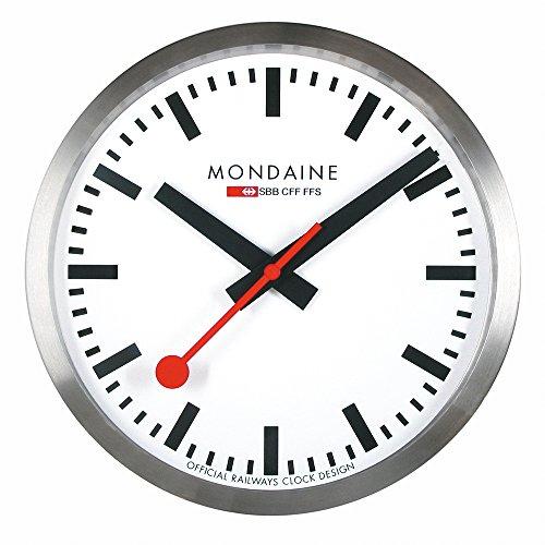 Mondaine A990.CLOCK.16SBB Wall Clock White (Sbb Swiss)