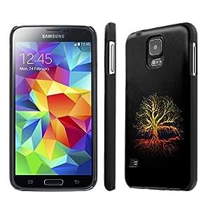 NakedShield Samsung Galaxy S5 (Tree of Life) SLIM Art Phone Cover Case