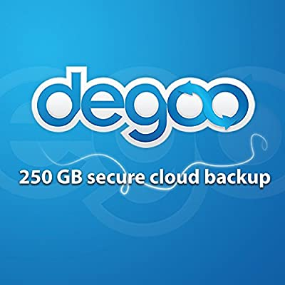 Degoo Backup Software | Pro 250 GB