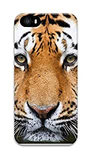 iPhone 5 5S Case Tiger Face 3D Custom iPhone 5 5S Case Cover