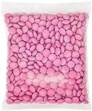 M&M's Light Pink Milk Chocolate Candy 1LB Bag