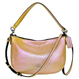 COACH Chelsea Crossbody in Hologram Leather in Silver / Gold / Rose Gold 37158