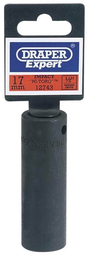 Draper Expert 06882 9mm Impact Deep Socket with 3//8-inch Drive