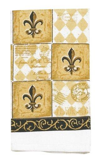 Kay Dee Designs R0540 Majestic Fleur De Lis Terry Towel