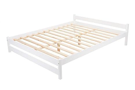 Camera Da Letto In Legno Bianco : Letto in legno matrimoniale letto con rete a doghe in legno con