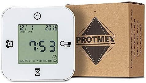 iyoovi mañana reloj despertador digital con calendario/cronómetro ...
