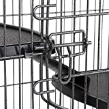 """YAHEETECH 52"""" 6 Level Metal Rabbit Cage with 3"""