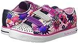 Skechers Little Kid (4-8 Years) Twinkle Toes: Chit Chat-Prolifics Pink/Navy Light-Up Sneaker - 1.5 M US Little Kid