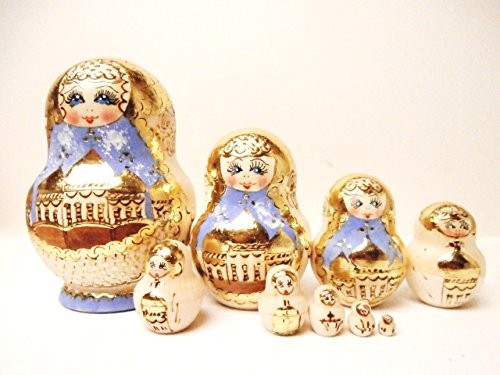 (Alkota Russian Nesting Doll with Russian Churches, 6