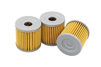 Amazon com: Pack of 3 Oil Filter for Suzuki LT-Z400 LTZ400