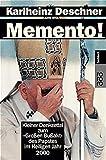 """Memento!: Kleiner Denkzettel zum """"Großen Bußakt"""" des Papstes im Heiligen Jahr 2000"""