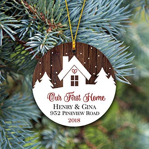 Our First Home Christmas Ornament.Amazon Com Our First Home Christmas Ornament Housewarming