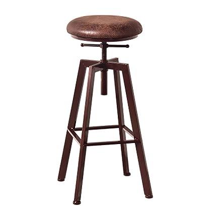 de forgé Tabouret TLMY tournant Chaise en Fer Bar américain 7bfgY6y