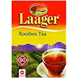 Laager South African Rooibos Tea – 80 count, 7 oz, 100% Natural Tea, Caffeine Free, Healthy and Pure, Red Bush Herbal Tea. Rich in Vitamins and Antioxidant (80 Count)