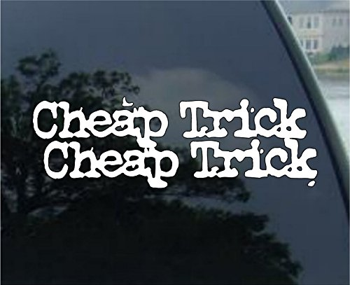 Cheap Trick - Car, Truck, Notebook, Vinyl Decal Sticker #2377 | Vinyl Color: White