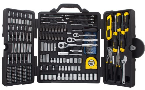 STANLEY STMT73795 Mixed Tool Set, 210-Piece (Case Tool With Set)