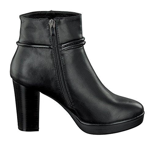 CAFèNOIR CAFéNOIR Damen Schuhe Stiefelette Schwarz LXA931-010 High-Heel Reißverschluss