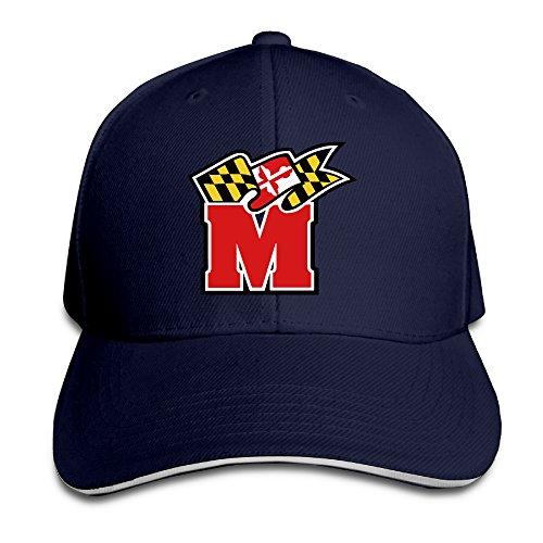 Maryland Terrapins Helmet Sandwich Cap Size: Adjustable Caps.
