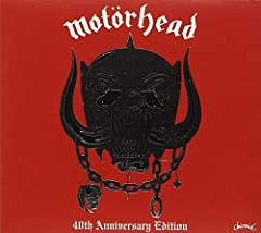 To mark the 40th anniversary of the very first Motörhead album [Chiswick WIK 2], originally released on 21 August 1977, Ace Records present a 20-track digipak (with silver logo) CD which includes previously unheard recordings from the origina...