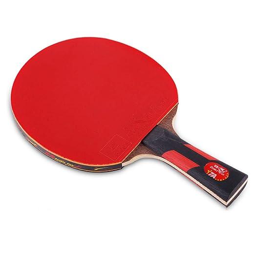 XGGYO 7 Star Palas Tenis Mesa & Case, Ofensiva Pala de Ping Pong ...