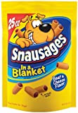 Snausages Snausages in a Blanket, 25-Ounce (Pack of 3), My Pet Supplies