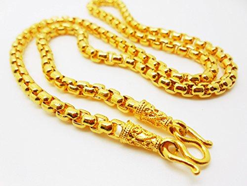 Chain 22k 23k 24k Thai Baht Gold Gp Necklace 20 Quot 35 Grams