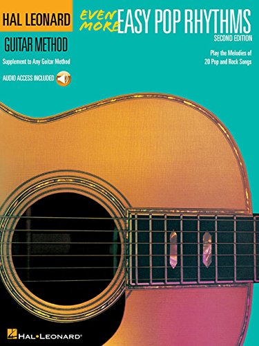 Easy Rhythm Guitar Books - Even More Easy Pop Rhythms: Hal Leonard Guitar Method