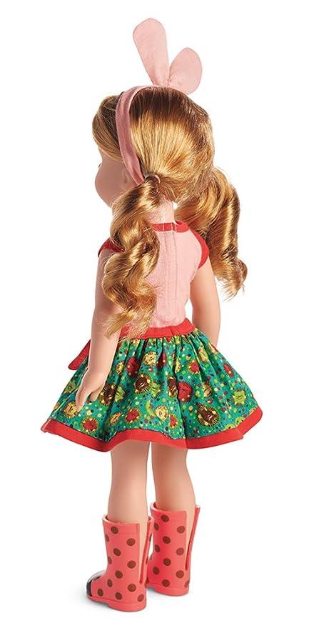 "**NEW** 100/% Authentic American Girl Wellie Wishers Willa 14.5/"" Doll NIB"