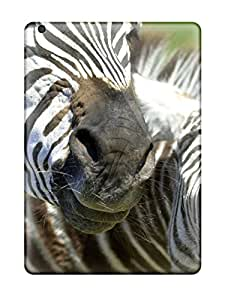 New Style ZippyDoritEduard Hard Case Cover For Ipad Air- Laughing Zebras