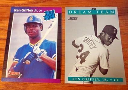 Amazoncom 1989 Donruss 33 Ken Griffey Jr Rookie Card And